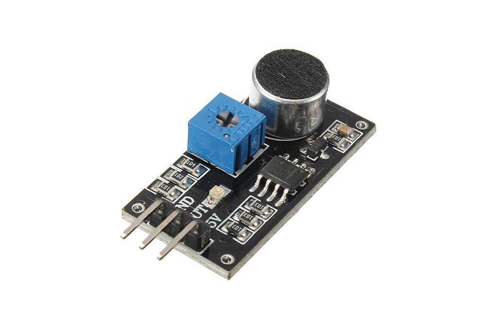 LM393 sound detection module 1