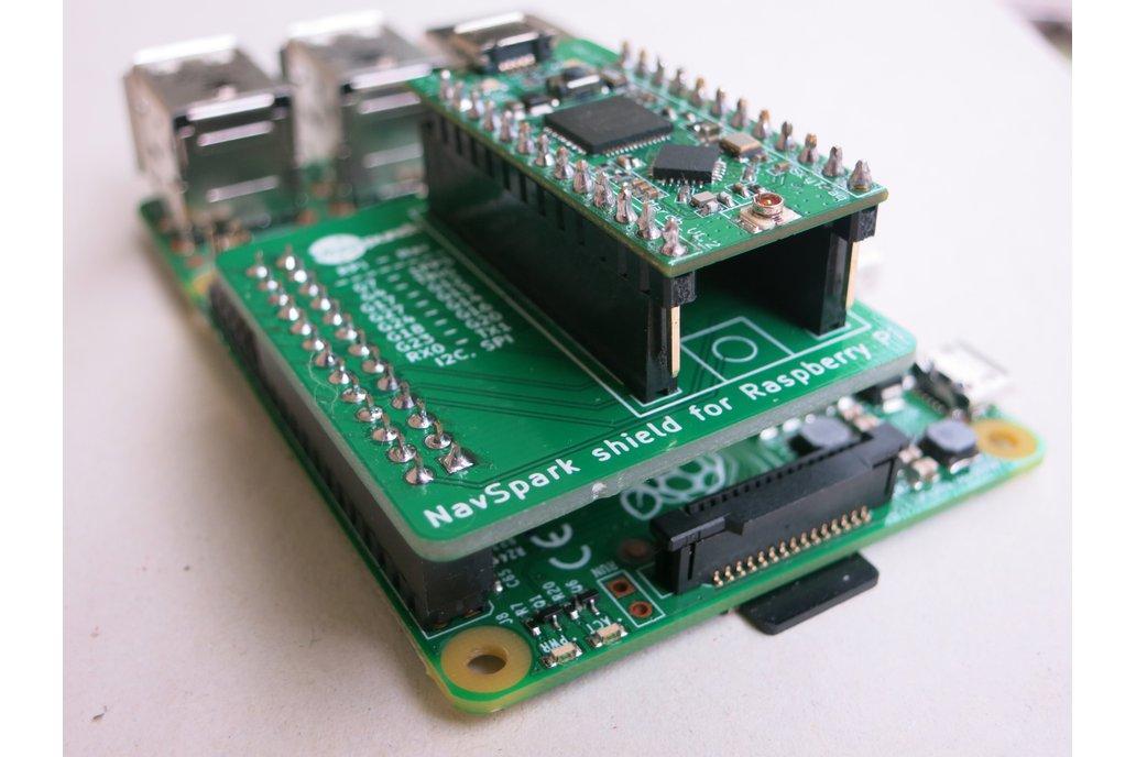 NavSpark Shield for Raspberry Pi 1