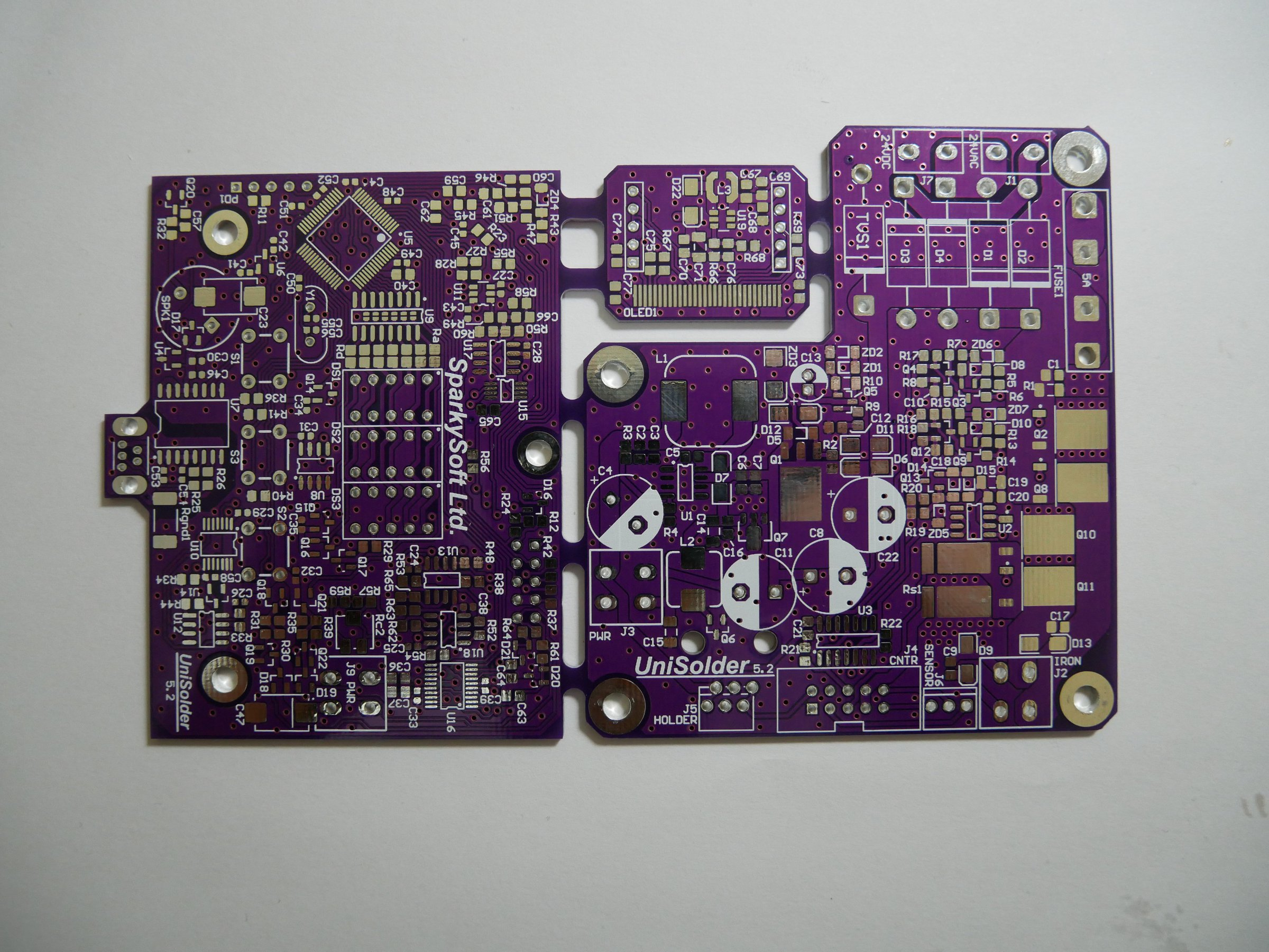 Unisolder 52 Diy Pcb Universal Soldering Station From Escorpio97 On Solder For Circuit Boards 1