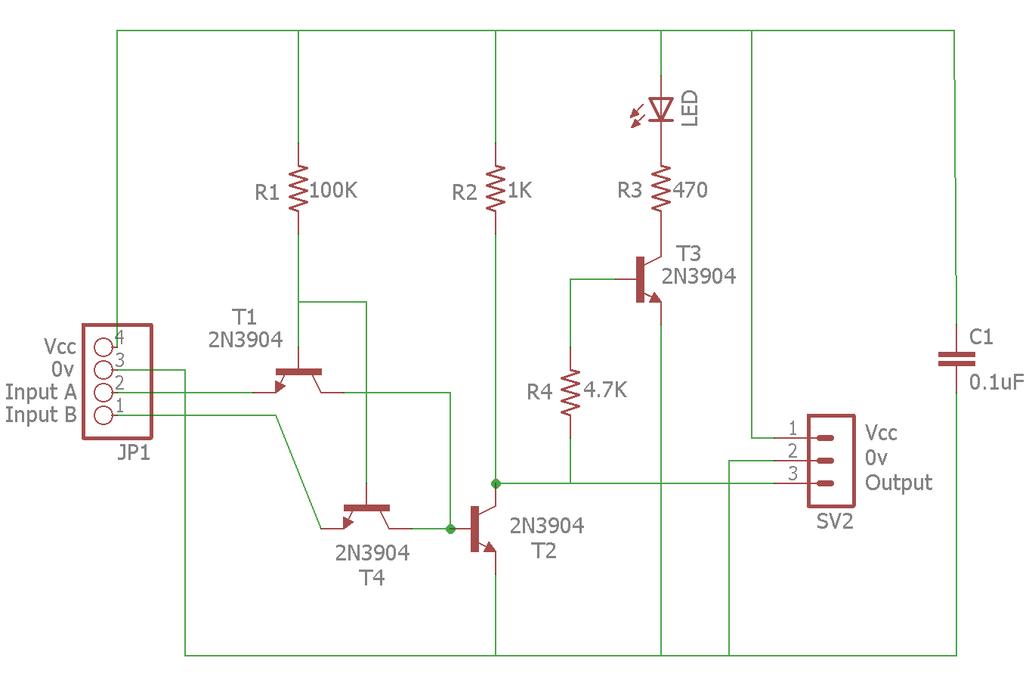 Transistor Based NAND Gate 2