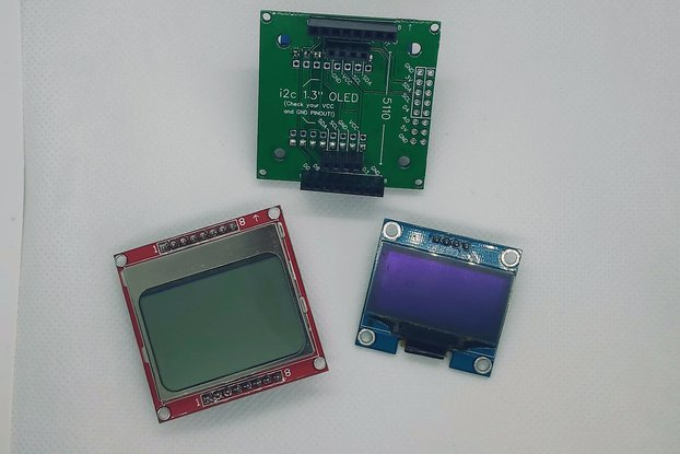 D1 Mini Screen Breakout Shield