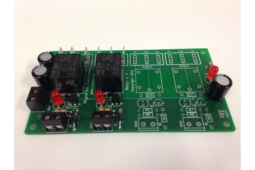 2 Relays, 12v, I/O Module Kit (#5520) 1