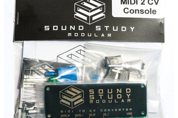 Sound Study MIDI 2 CV DIY Kit Console Version