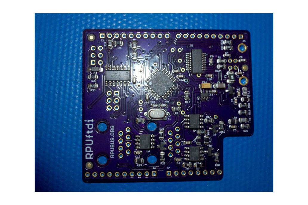 RPUftid - a shield for USB to RS-422 over CAT5 2