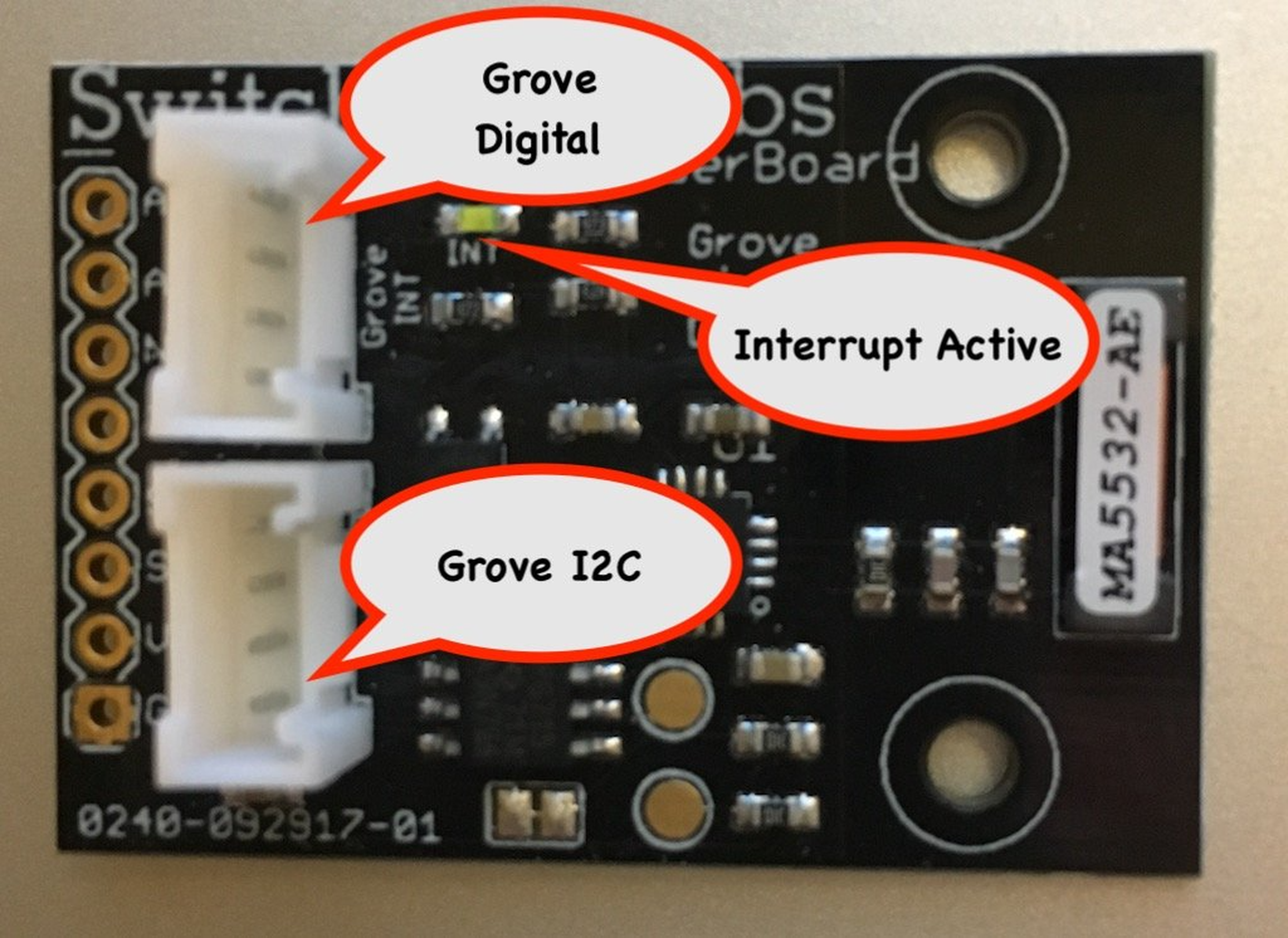 Thunderboard lightning detector from switchdoc labs on tindie