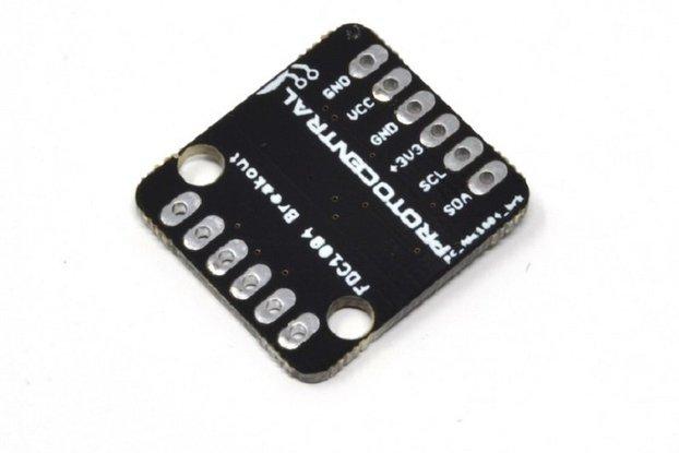 FDC1004 Capacitance sensor breakout board