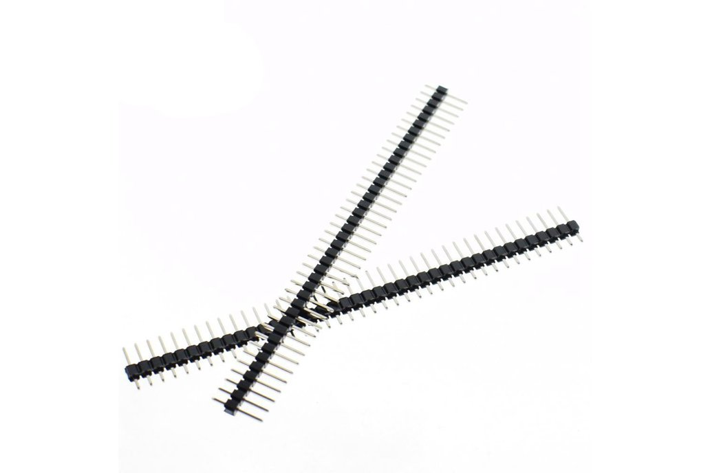 20pcs 40 Pin Single Row Male 1