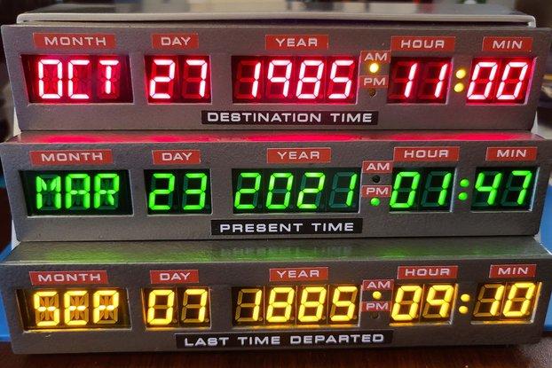 Time Circuits Display (TCD) Electronics Kit