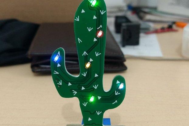 Cactus saguaro - SAO badge Add On & PIN
