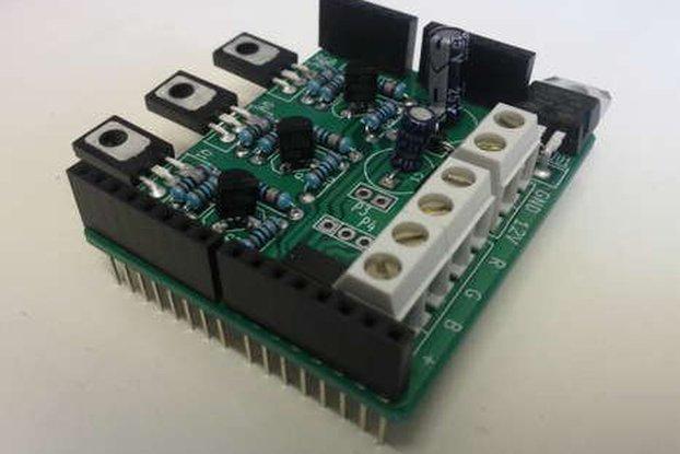 RGB LED Arduino Shield