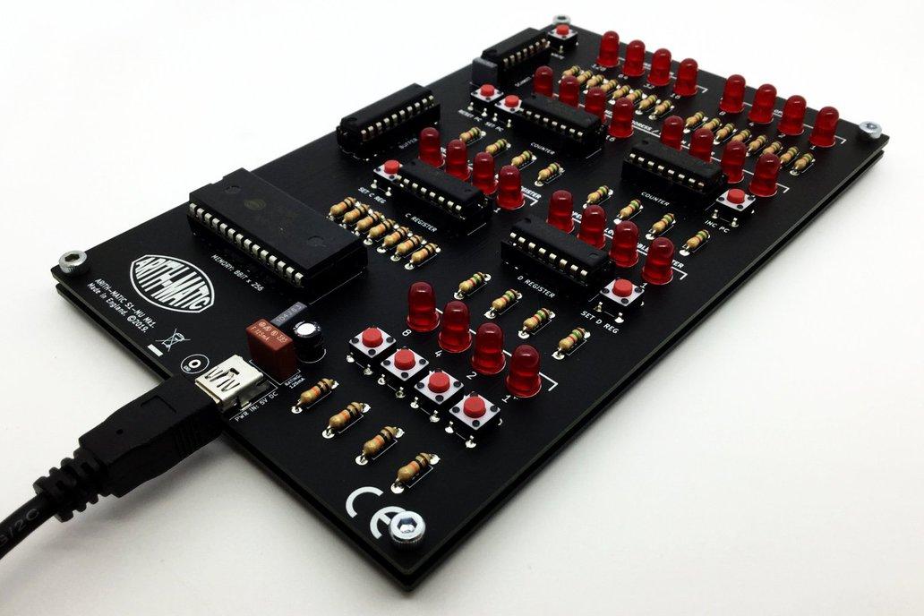 ARITH-MATIC S1-MU Mk1: A DIY 8-bit Memory Unit 1