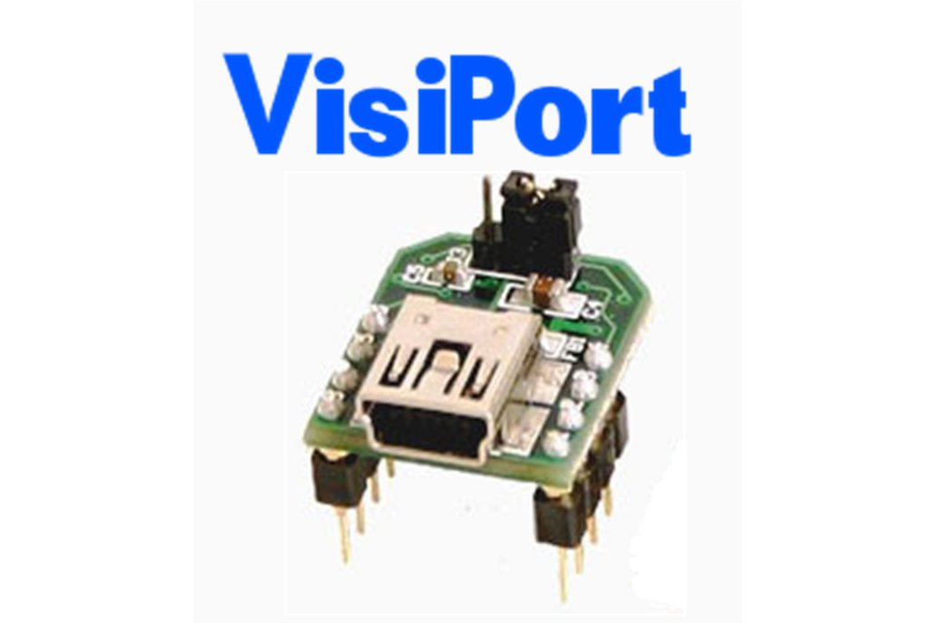 VisiPort USB To Serial Adapter for Debugging Microcontrollers 1