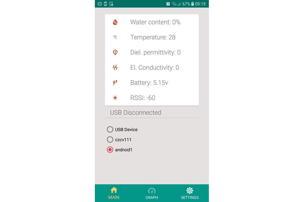 USB Soil Moisture, Temperature , EC sensor 2