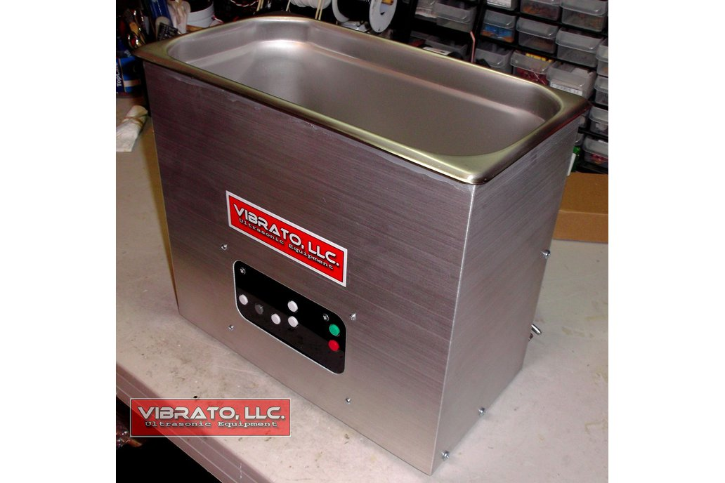 Vibrato 60KHz 6 Quart Ultrasonic Cleaner 2