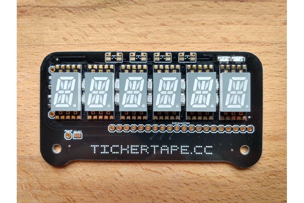 Tickertape Retro Display 1