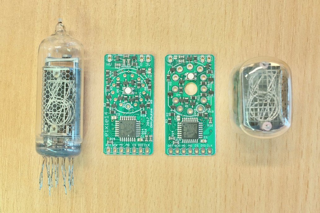 exixe: Miniture Nixie Tube Driver Modules 1