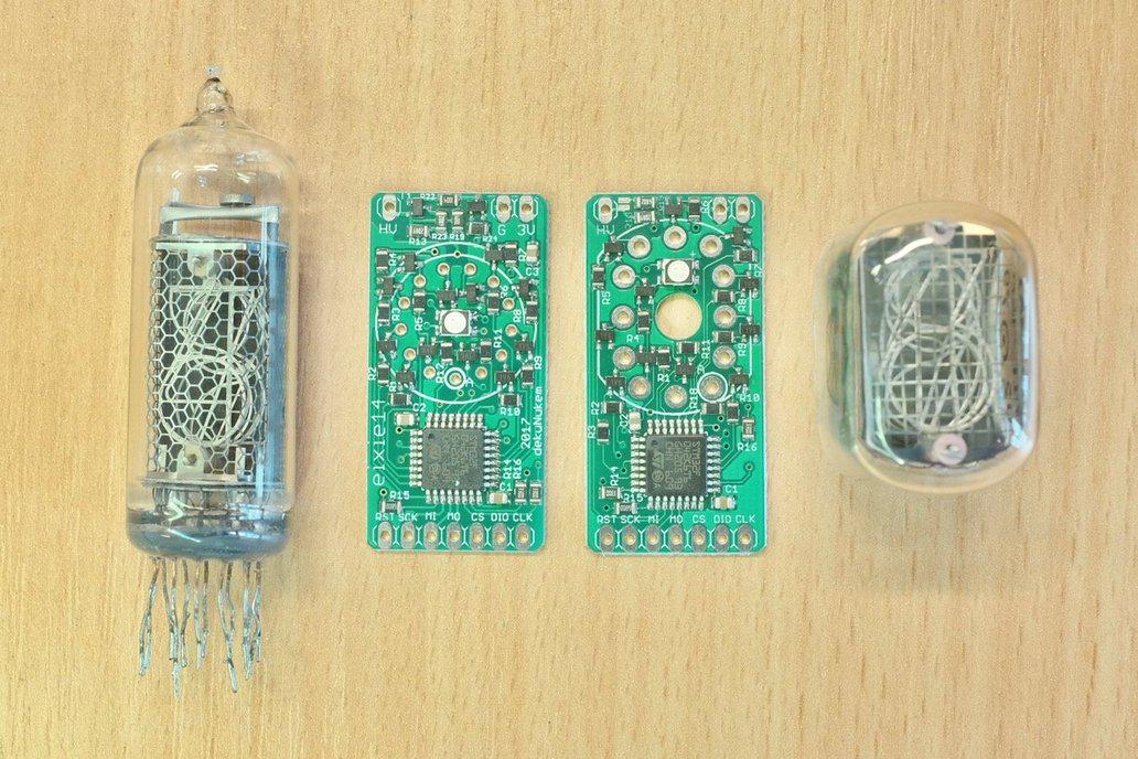 exixe: Miniture Nixie Tube Driver Modules 1