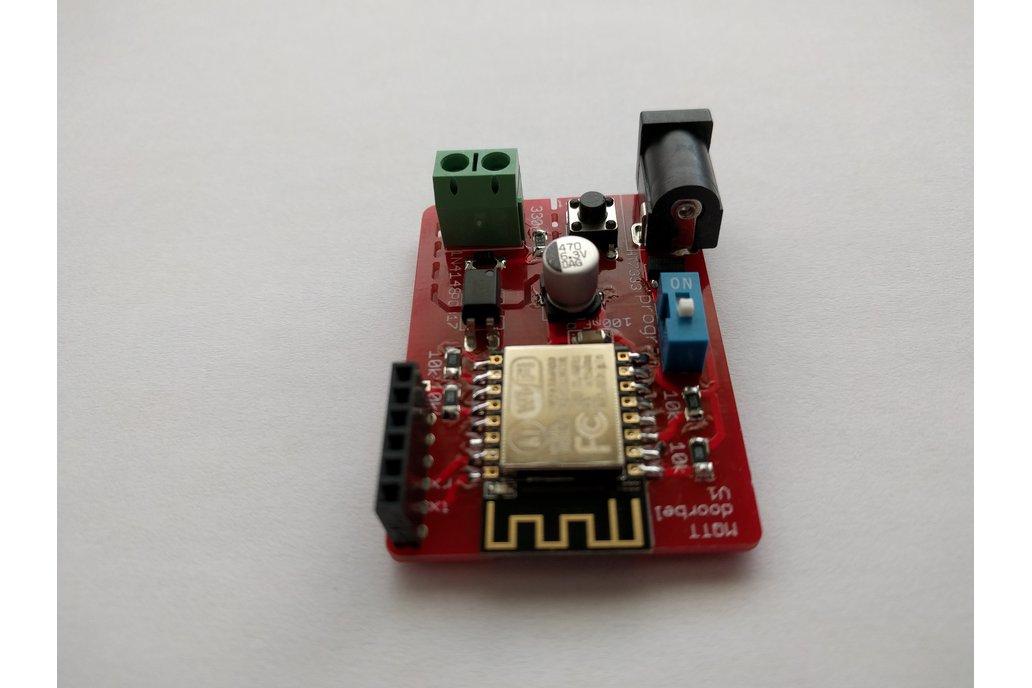 MQTT / wifi doorbell with esp8266 3
