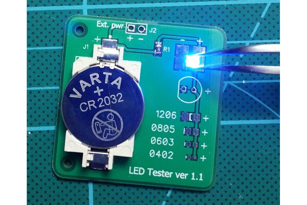 LED tester 13