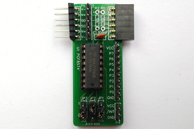 SC405 I2C Digital I/O Module Kit (PCF8574)