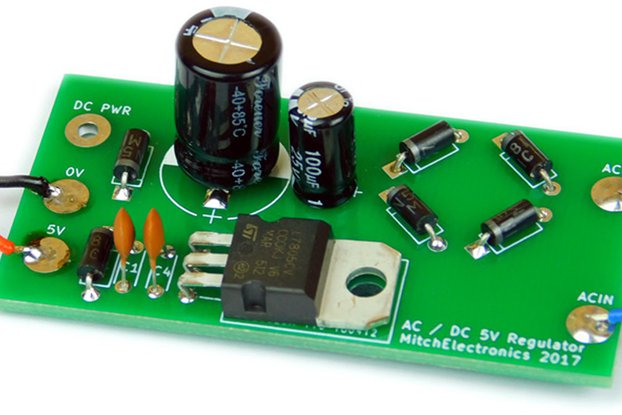 AC-DC 5V Regulator Kit