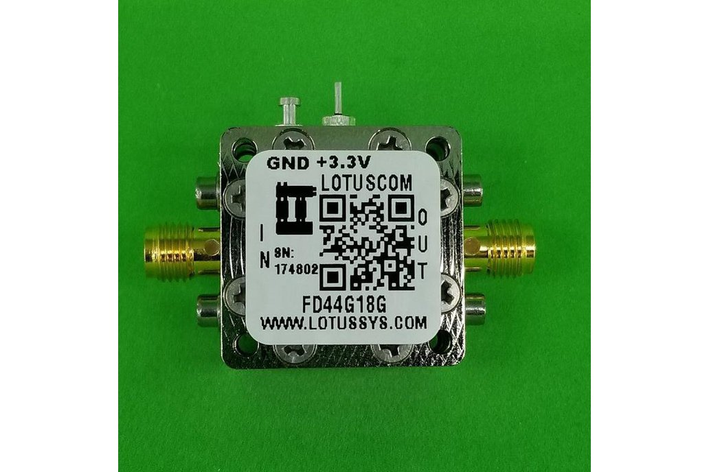 Frequency Divider/Prescaler Divide by 4 (4~18 GHz) 1
