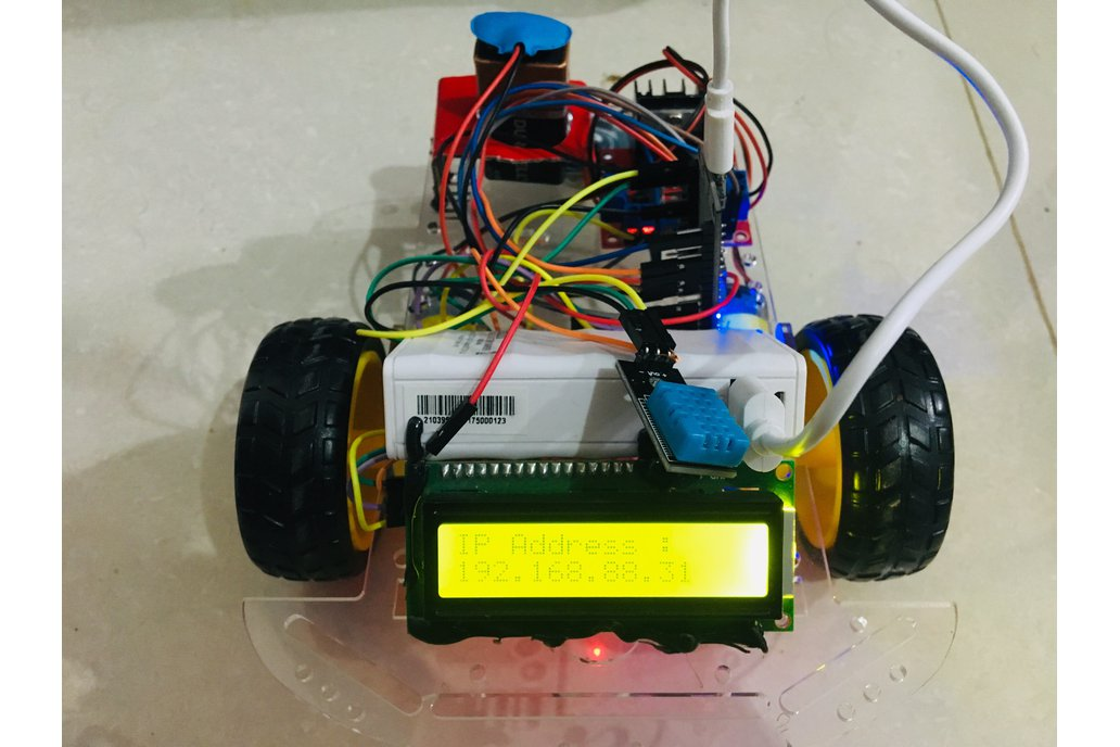 Wireless Bot With App Over Wifi 1