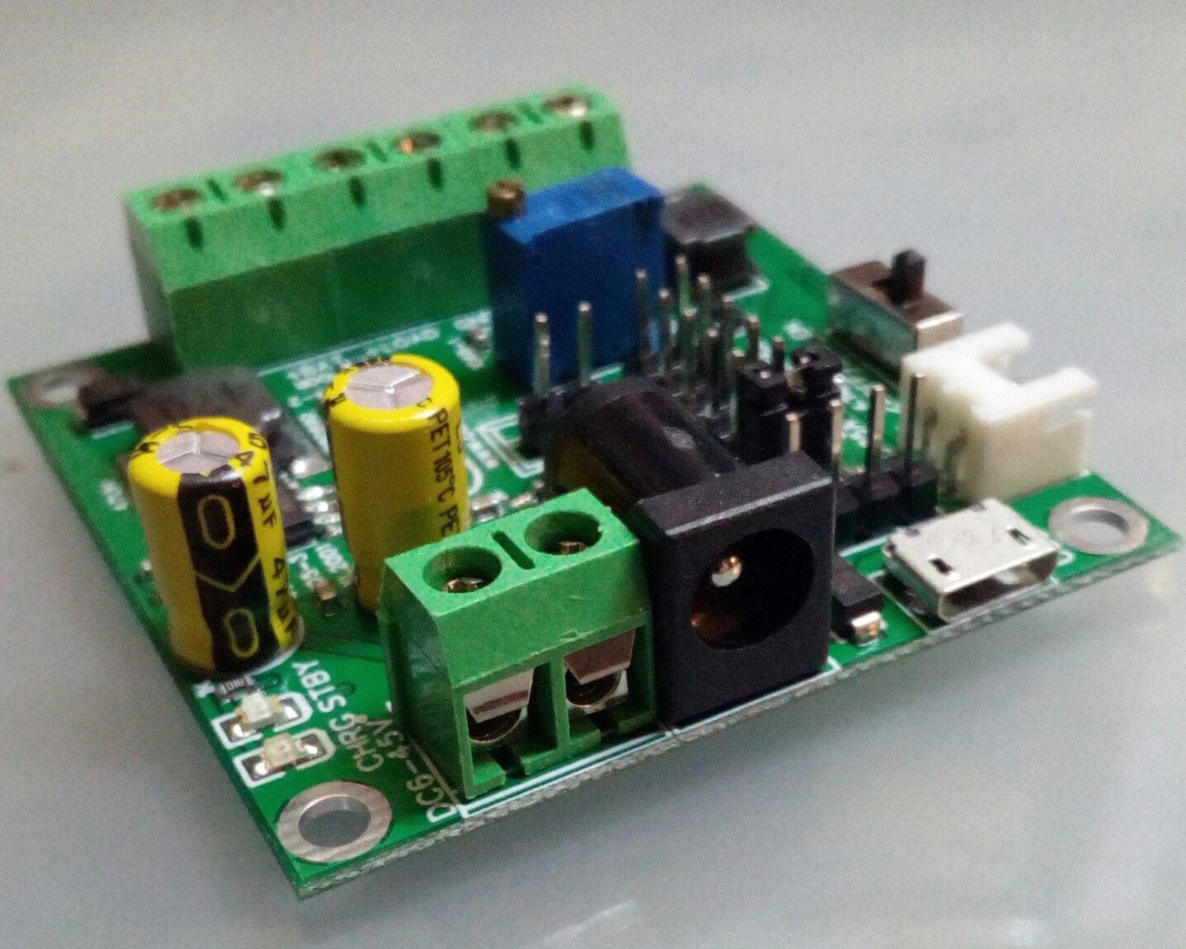 Cn3153fa 1s1a 3in1 Regulator Charger Booster Liion From Burgduino On Circuits Charging A 500 F Capacitor It Charges Up 1