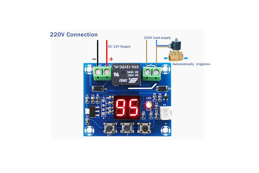 XH-M214 Humidity Controller Soil Irrigation(13099) 5
