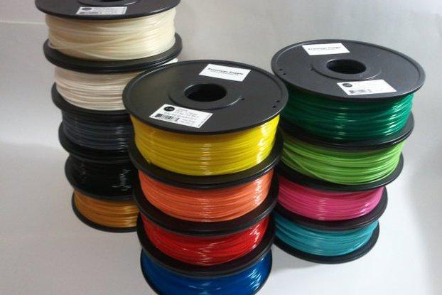 PLA 3D Filament (1.75 mm, 1 kg), 12+ colors!