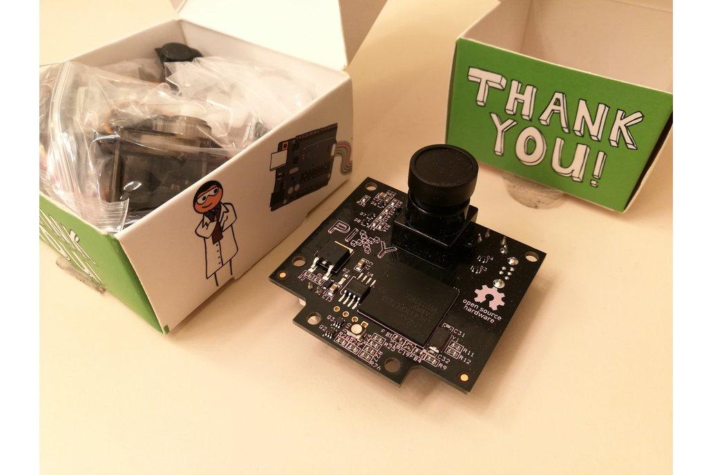 Pixy (object tracking camera) + Pan/Tilt Kit 1
