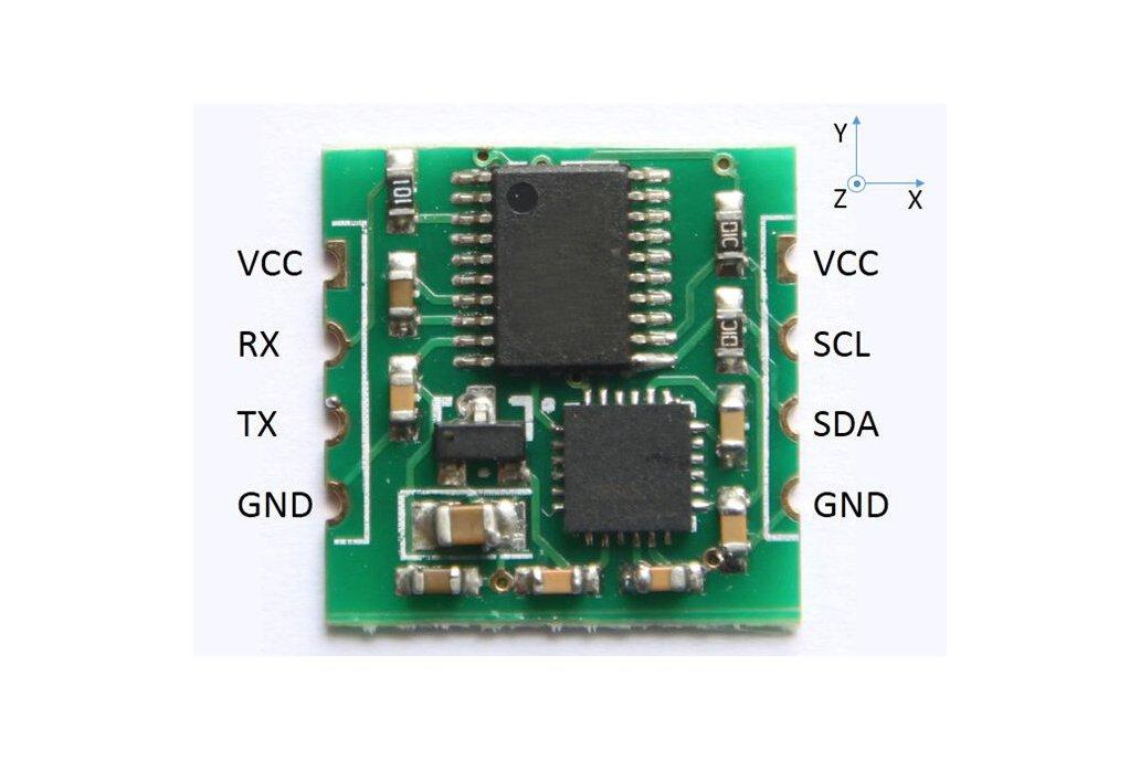 Six axis gyroscope sensor 1