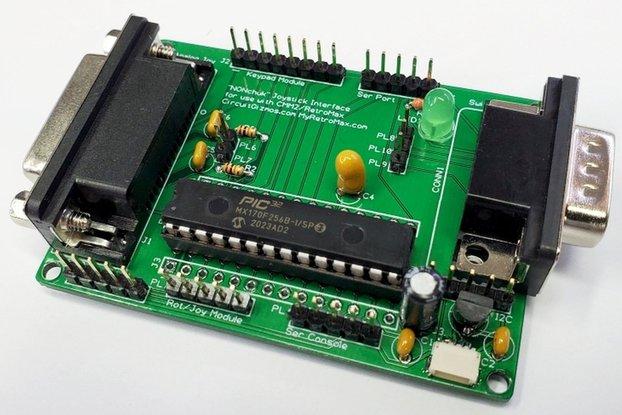 NONchuk - Joystick/I2C/keypad/rotary interface