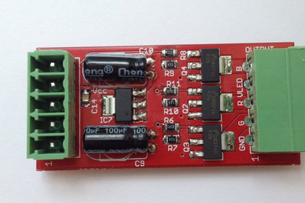 3ch LED driver PCB