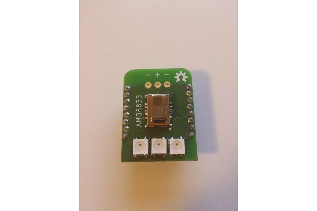 Grid-EYE AMG8833 / Neopixel Wemos D1 Mini shield