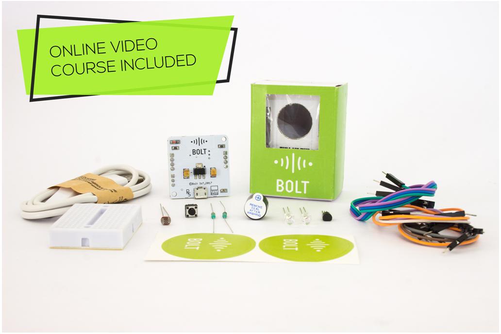 Bolt IoT Platform : Starter Kit with Video Course 1