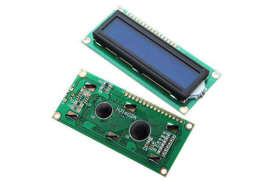 LCD Display Module (Blue Blacklight)