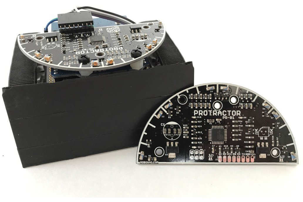 Protractor - Proximity Sensor that Measures Angles 3
