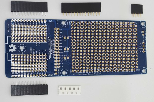 "Display Stick for a 2.8"" Display and Photon"