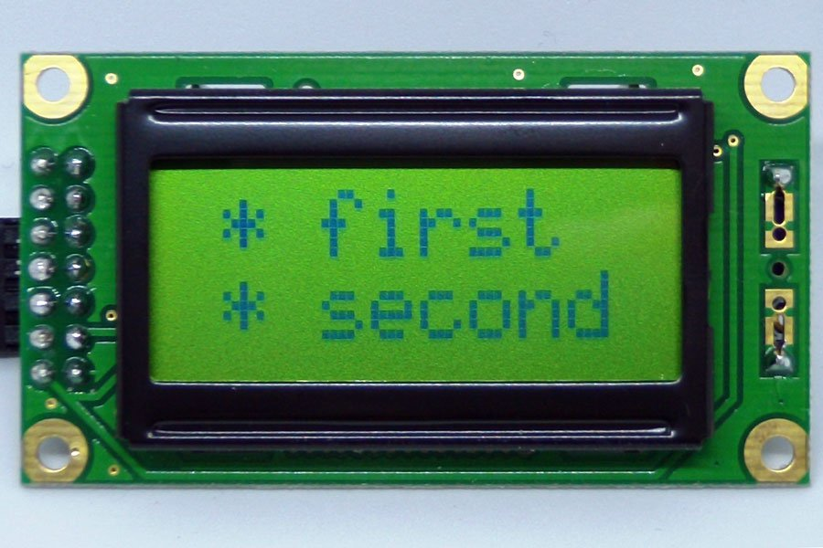 0802 LCD I2C Adapter