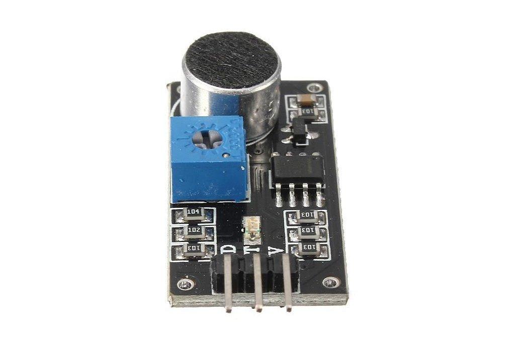 LM393 sound detection module 2