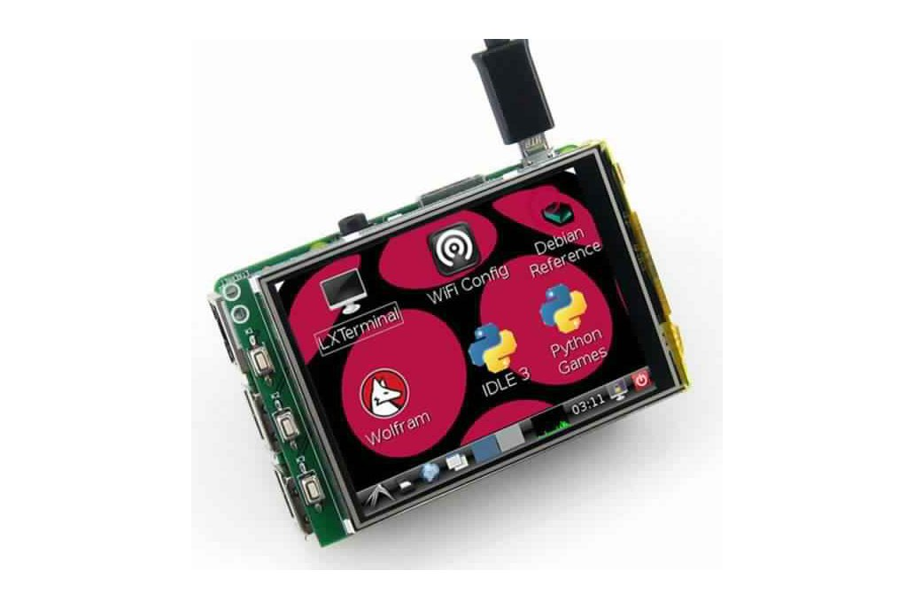3.2 Inch TFT LCD Display Module Touch Screen 1