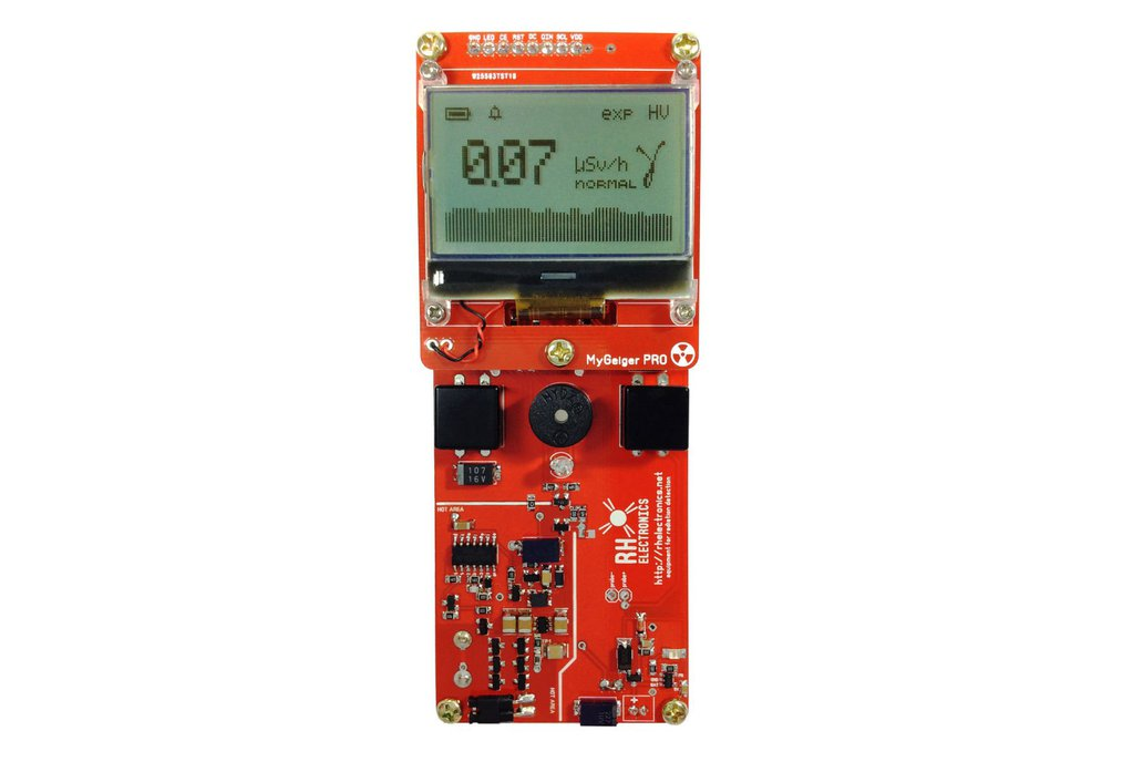 MyGeiger ver.3 PRO DIY Geiger Counter with SBM-20 1