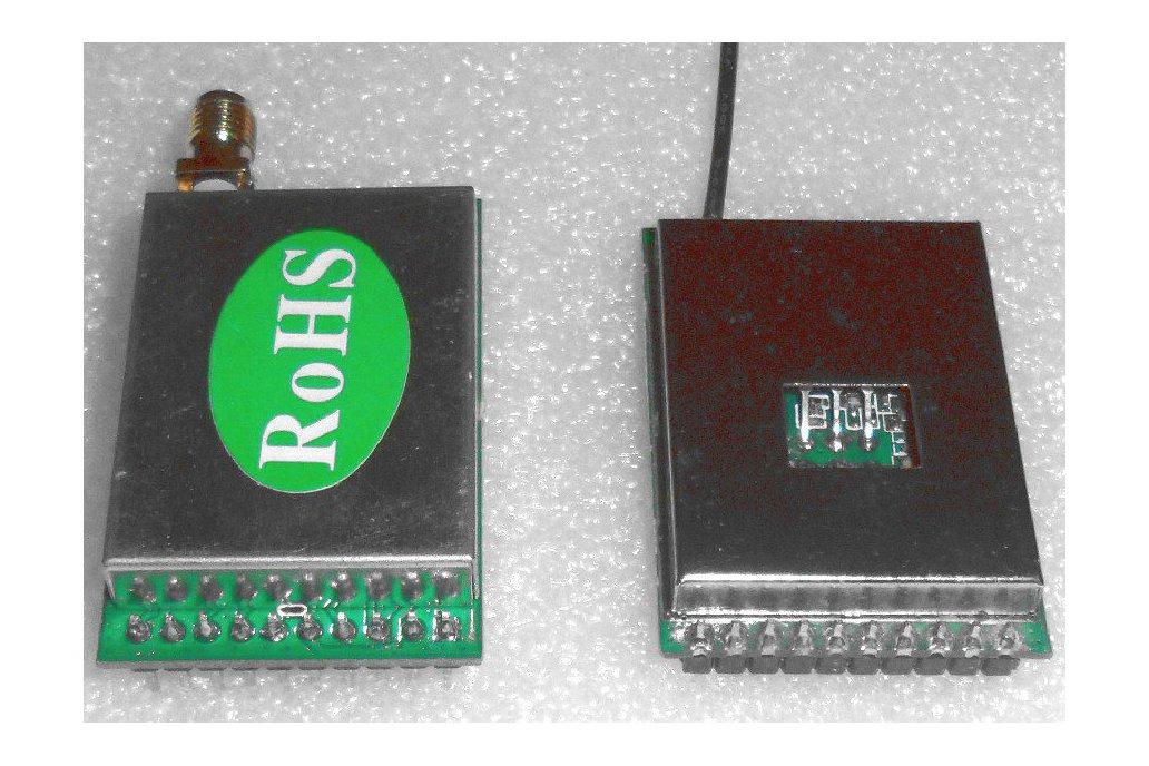 1W wireless audio/video monitoring kit 1