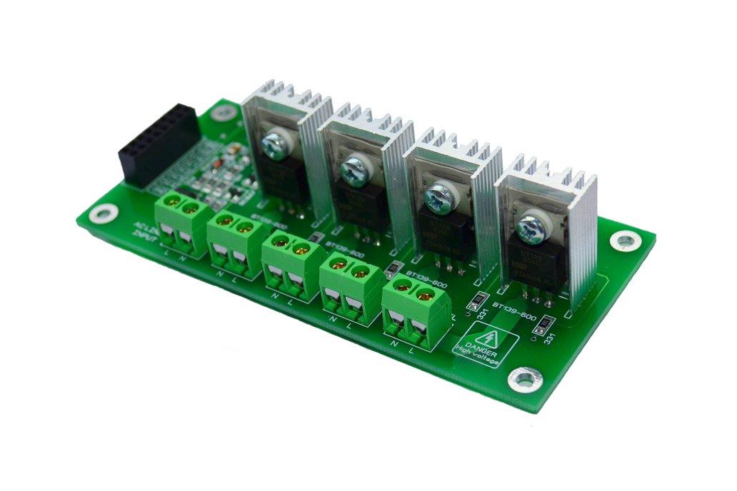 4CH AC Dimmer V1 Module Controller Board Arduino 1