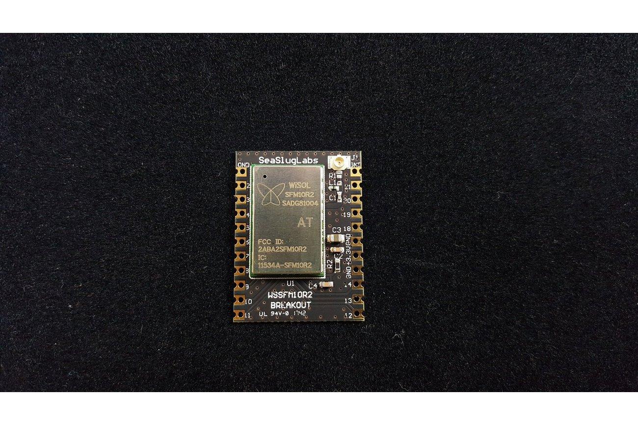 Sigfox Castellated Breakout Board