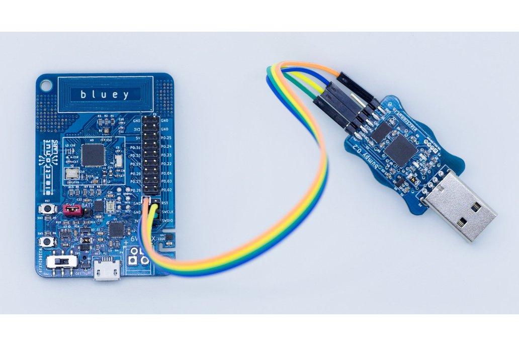 Bluey nRF52832 BLE development board 3