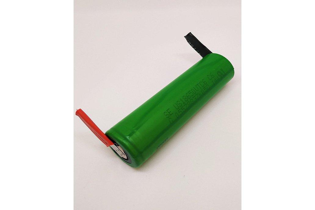 Li-Ion Battery VTC6 3000mAh 30A - with TABS 1