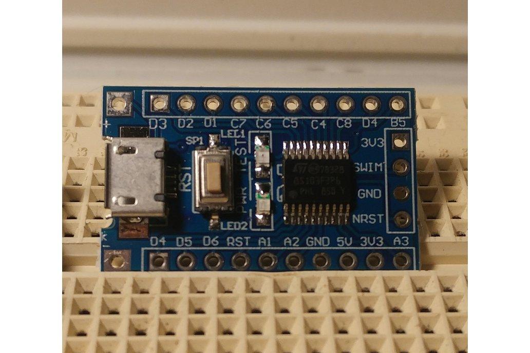STM8 BASIC 1