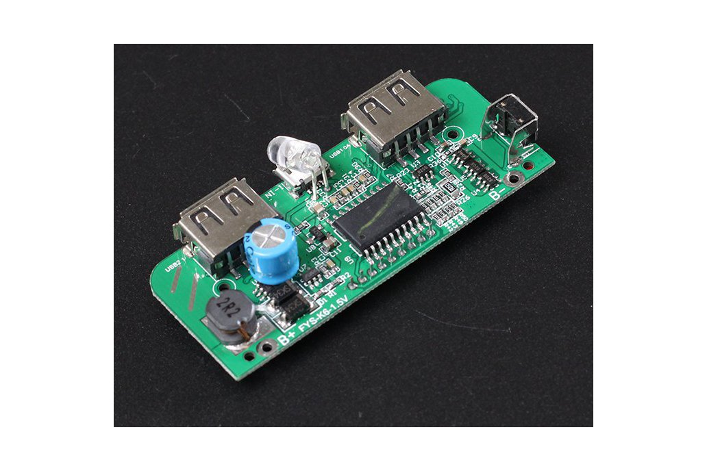 Two-USB Mobile Power Bank Charger PCB Board(6876) 3